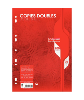 Sachet de 50 copies doubles...