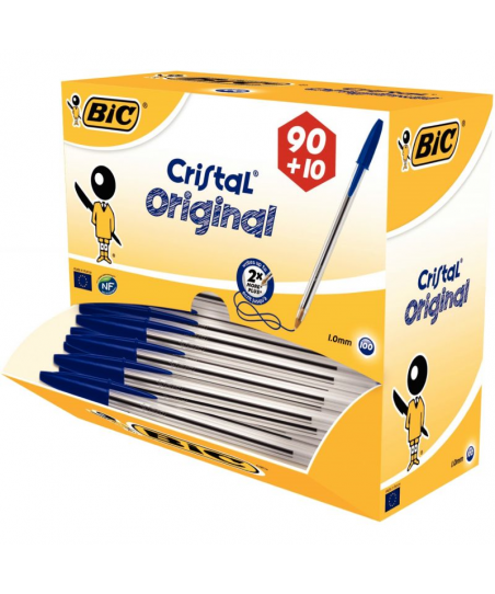 Pack 90+10 stylos bille Bic...