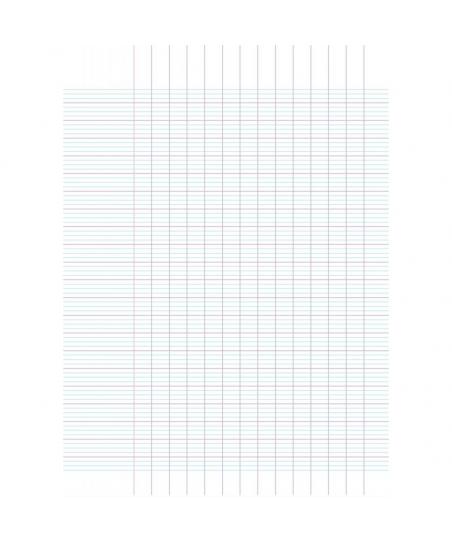 Piqûre 60 pages 17x22 cm,...