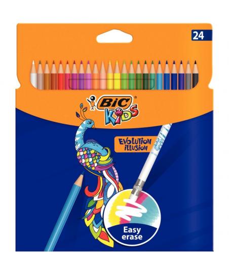 Etui de 24 crayons de...