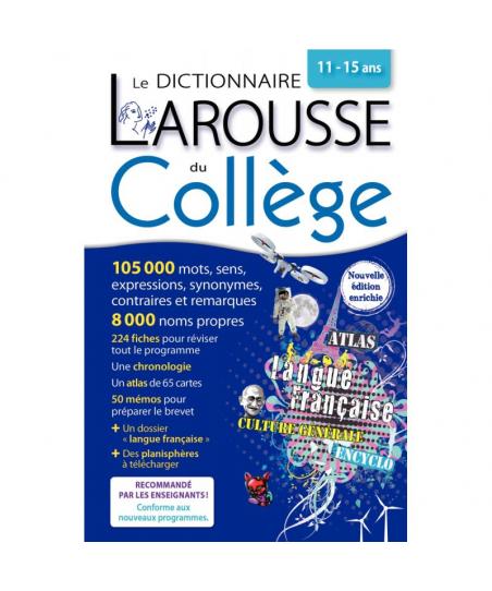 Dictionnaire Larousse du...