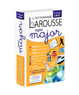 Dictionnaire super major,...