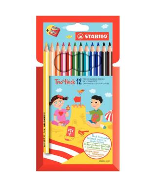 Etui 12 crayons de couleurs...