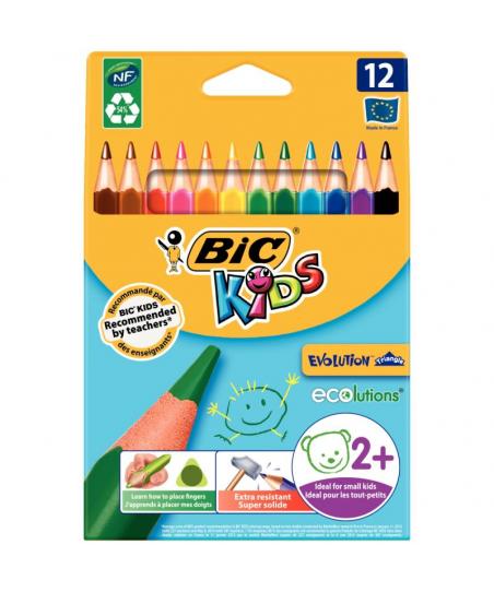 Étui de 12 crayons de...