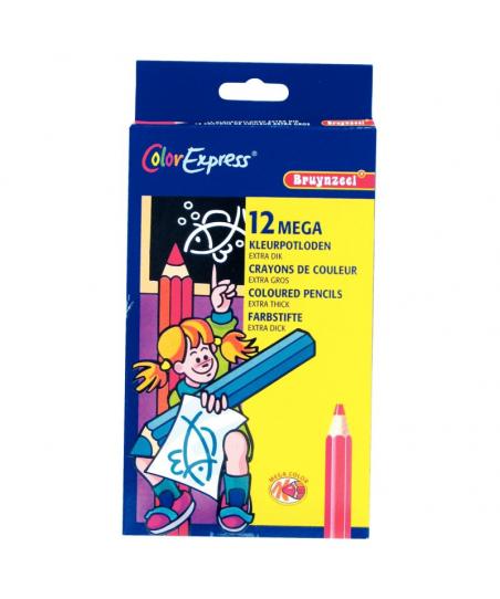 Etui carton de 12 crayons...