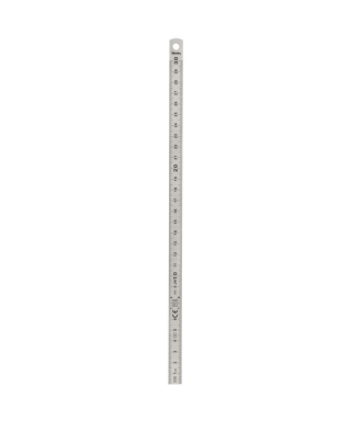 Reglet inox 2 faces 30 cm