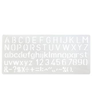 Trace-lettre à bille 10 mm...
